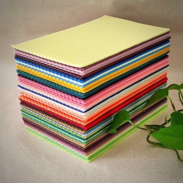 ورق موم رنگی