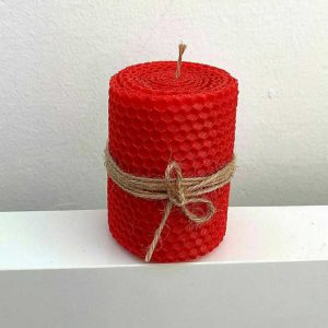 شمع موم رنگی ارتفاع 9