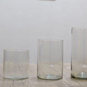 ظرف شیشه ای استوانه ای