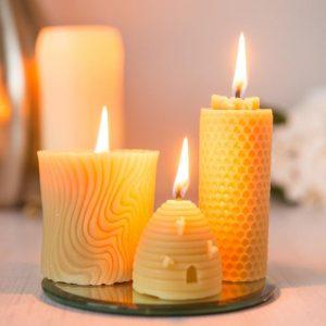 شمع مومی