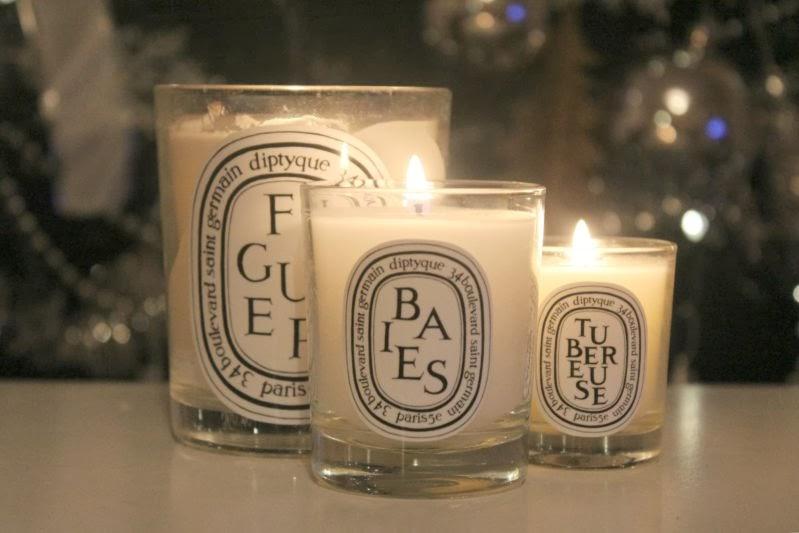 شمع Baies از برندهای شمع