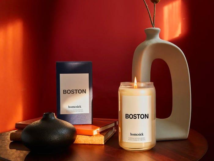 شمع Homesick از برند شمع سازی