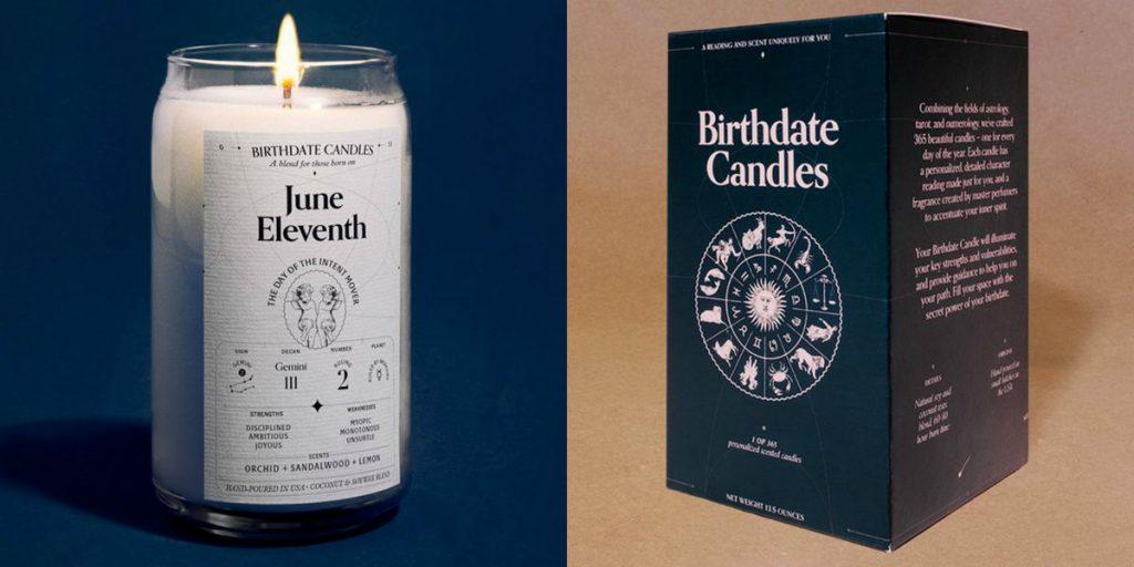 شمع birthdate از برند شمع سازی