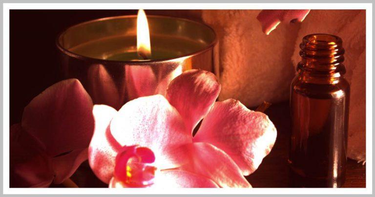 شمع ماساژ