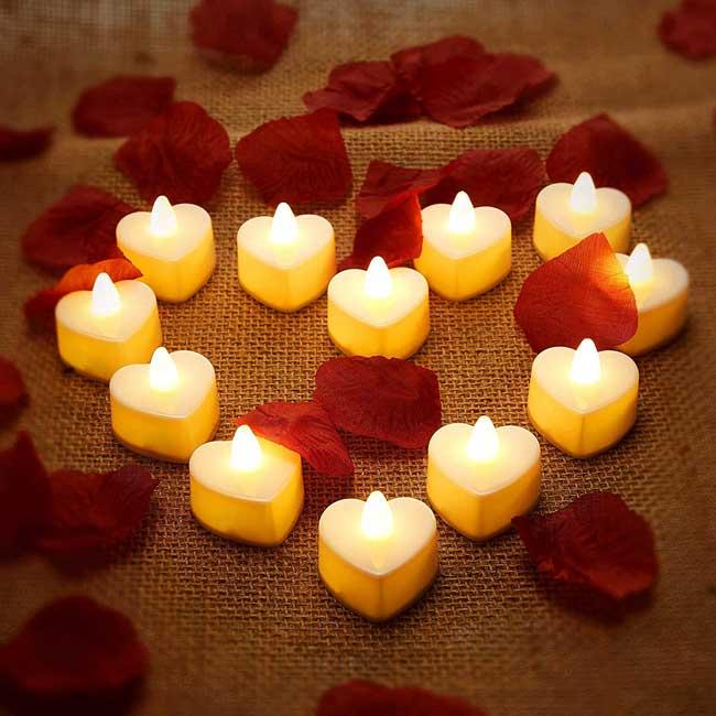 شمع آرایی ولنتاین5