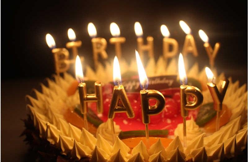 شمع آرایی جشن تولد 5