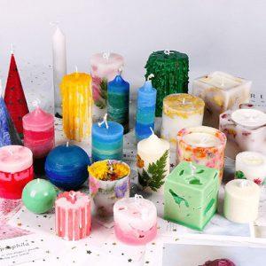 خرید انواع قالب شمع سازی